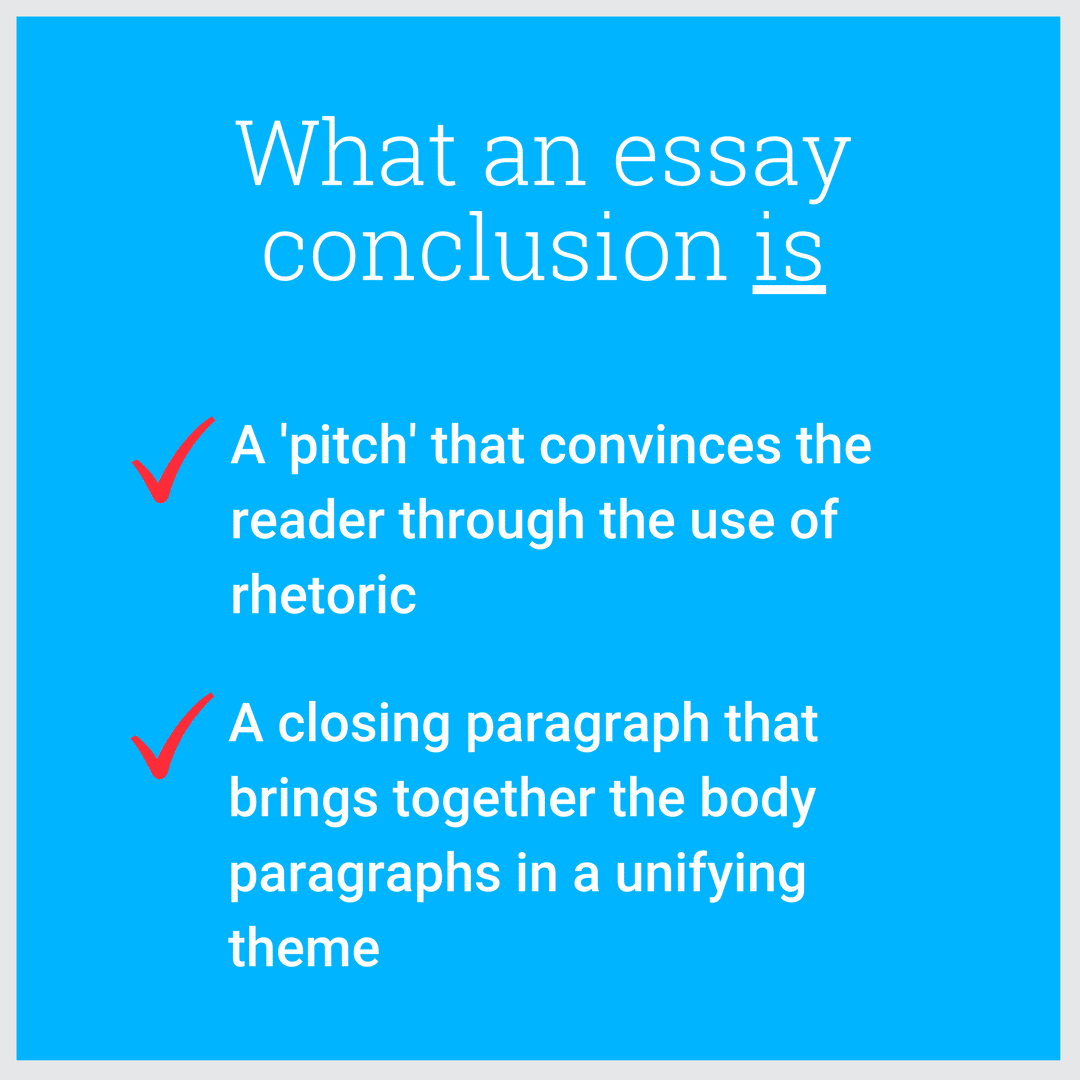 How do you write a final essay